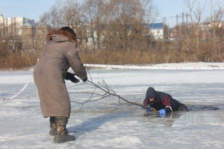 Преодоление замерзших озёр и рек