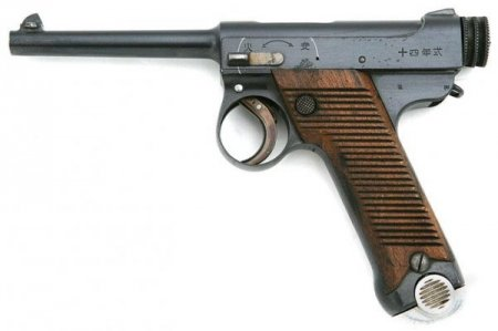 Пистолет Nambu Type 14 (Япония)