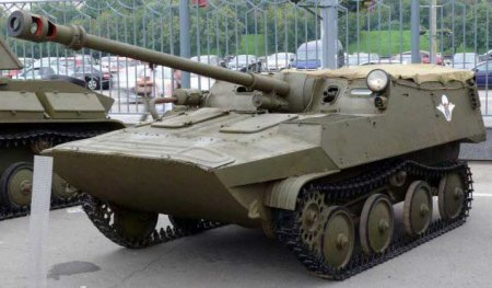 Опытная САУ АСУ-57П «Объект 574» (СССР)