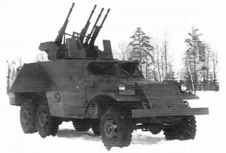 Опытная ЗСУ ЗИС-152Д с ЗТПУ-4 (СССР)