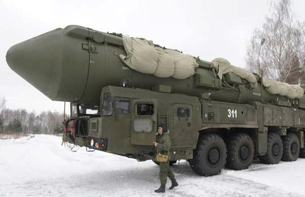 Стратегический ракетный комплекс PC-24 «Ярс» (Россия)
