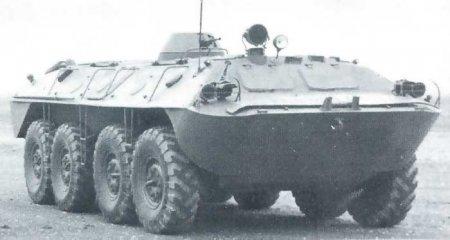 Опытный бронетранспортёр «Объект 1015Б» (СССР)