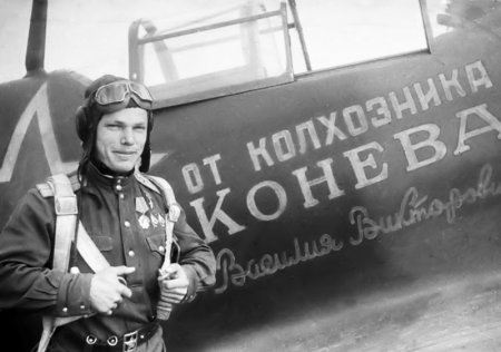 Трижды Герой Советского Союза Кожедуб Иван Никитович