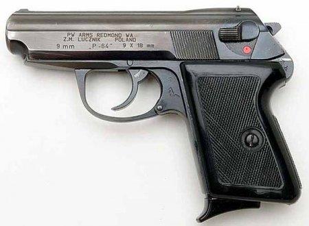 Пистолет Radom P-64 (wz.1964) (Польша)
