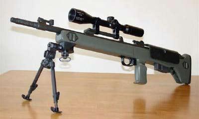 Снайперская винтовка TEI M89-SR (Израиль)
