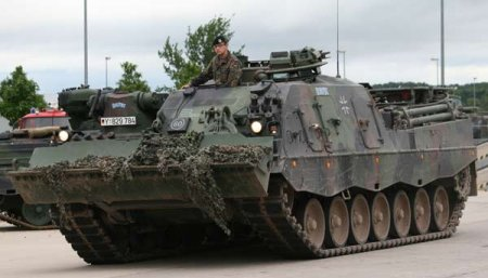 БРЭМ Bergepanzer 3 Buffel (Германия)