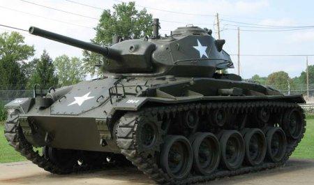 Лёгкий танк M24 Chaffee (США)