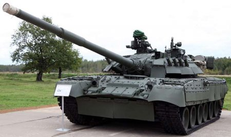 Основной танк Т-80УЕ-1 («Объект 219АС-1») (Россия)