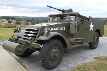 Лёгкий бронетранспортер M3A1 «Scout Car» (США)