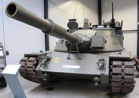 Опытный танк MBT KPz-70 (Германия)