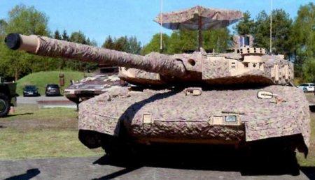 Опытный боевой танк Leopard ADT (Германия)
