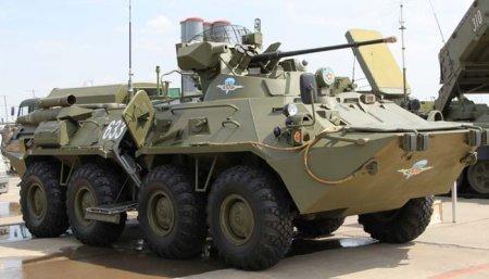 Колёсный бронетранспортёр БТР-82А (Россия)