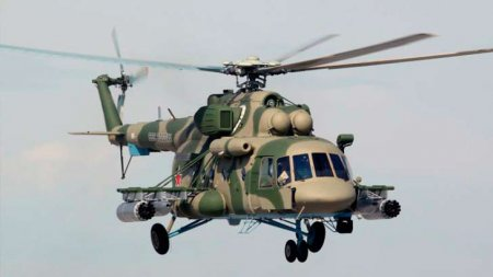 Вертолёт огневой поддержки Ми-171Ш-ВН (Россия)