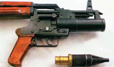 Подствольный гранатомёт ОКГ-40 «Искра» (ТКБ-048) (СССР)