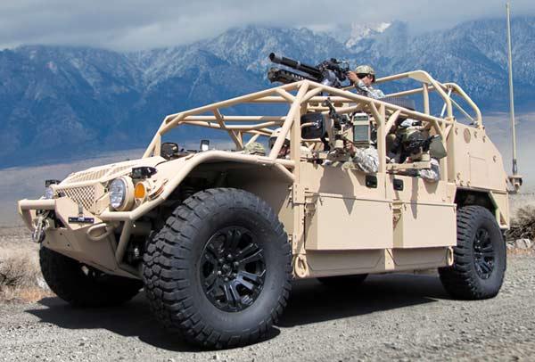 Специальный ударный автомобиль ALSV (США)