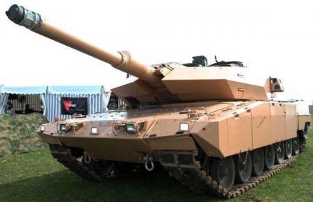 Основной боевой танк Strv 122 (Швеция)