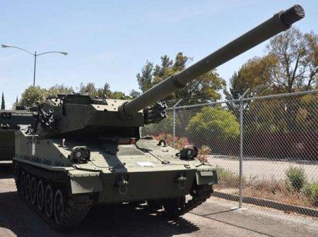 Опытный танк XM8 AGS (США)