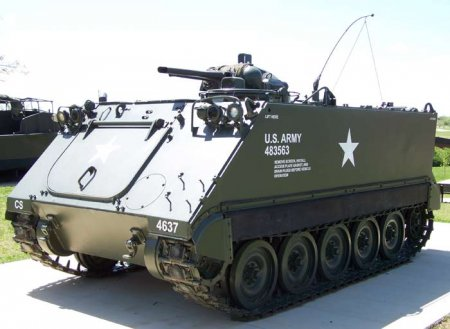 Самоходный огнемёт M132 «Zippo» (США)