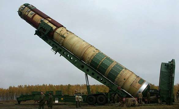 Межконтинентальная баллистическая ракета 15А14 Р-36М (СССР)