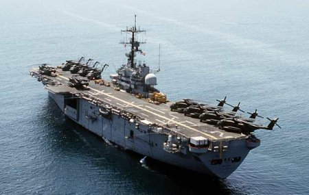 Десантный вертолётоносец «Iwo Jima» (США)