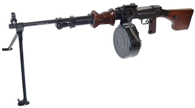 Ручной пулемёт Дегтярёва РПД-44 / РПД (СССР)