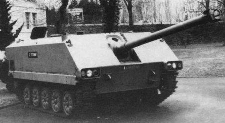 Опытный истребителя танков AMX-10M ACRA (Франция)