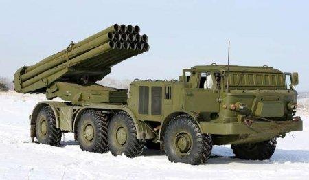 Реактивная система залпового огня 9К57 «Ураган» (СССР)