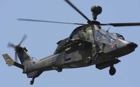 Ударный вертолёт EC665 Eurocopter Tiger (Франция-Германия)