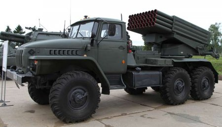 РСЗО БМ-21 «Град» (СССР)