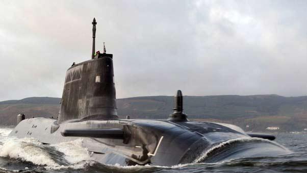 Подводные лодки типа Vanguard class (Великобритания)